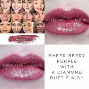 Sheer Berry Diamond Lipsense LIMITED EDITION
